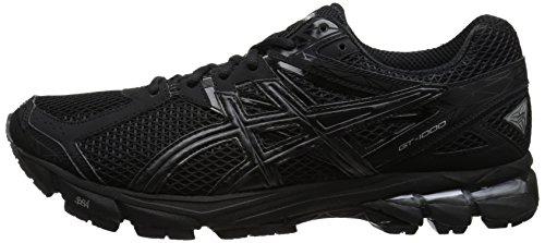 Asics GT-1000 3 Hombre US 7 Negro Zapato para Correr