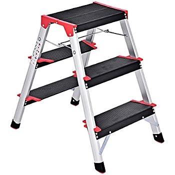 Werner Tw373 30 Heavy Duty Work Step Ladder 300 Lb 3 In