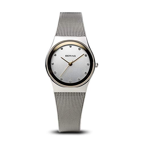 BERING Time 12927-010 Womens Classic Collection Watch with Mesh Band and scratch resistant sapphire crystal. Designed in ()
