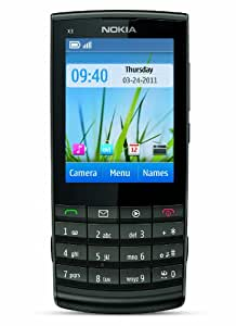 Nokia X3-02 Factory Unlocked Touch and Type GSM Phone - Dark Metal (International Version) (Discontinued by Manufacturer)