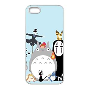 My Neighbour Totoro iPhone 4 4s Cell Phone Case White JN0K0308