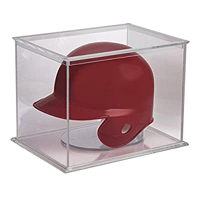 Ultra Pro Mini Helmet and Figurines UV Display Case: Sports & Outdoors