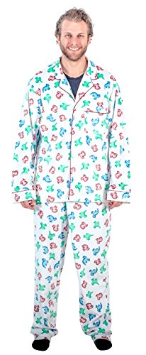 National Lampoon's Christmas Vacation Clark's Dinosaur Pajama Set (Adult -