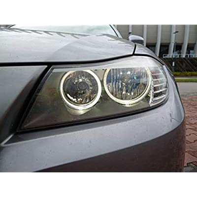 LUX E90 LCI Halogen V3 for BMW Angel Eyes: Automotive