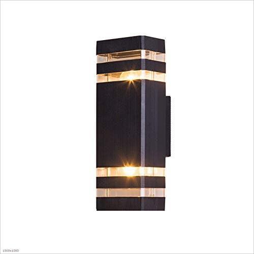 HJZY Moderno Aplique Porche luz Impermeable lámpara de Aluminio ...