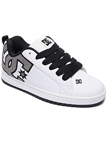 taglia Sneaker M Bianco DC Graffik Court Shoes S IqYXw