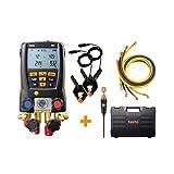 Testo 557 Hoses - Digital Manifold Kit with Bluetooth and Set of 4 Hoses