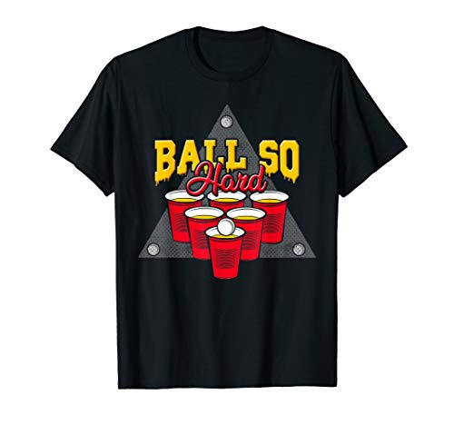 Beer Pong Costume Couples Halloween Team Idea Master T Shirt]()
