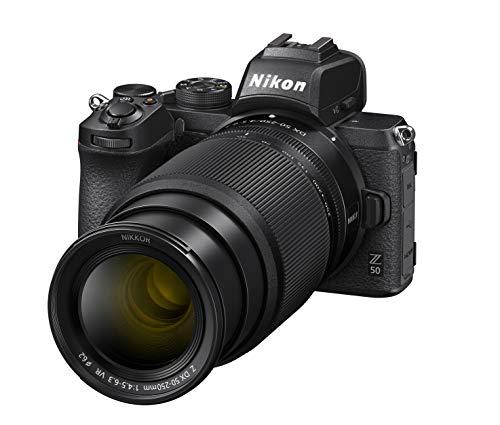 Nikon Z 50 compact systeemcamera + NIKKOR Z DX 16-50mm + 50-250mm lenzen/objectieven – GROOT ZOOM BEREIK – Grote Z lens…