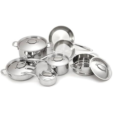 Cuisinox POT 412 12 Piece Super Elite Cookware Set