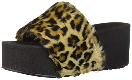 Jessica Simpson Women's Faille Slide Sandal Natural 8 M ()