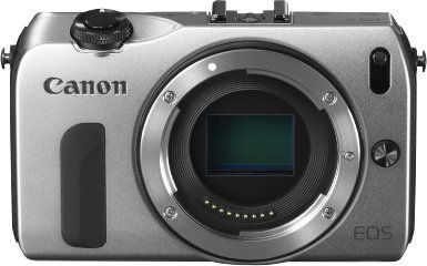 Canon EOS M Compact System Camera - Body Only (Silver)