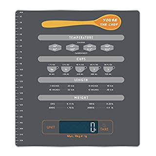 Digital Kitchen Food Scale - i-Star Toughened Glass Panel Cooking Scales Accurate 2 g or 0.05 oz, Max 10 kg or 22 Pound Baking Scale Grams and Ounces