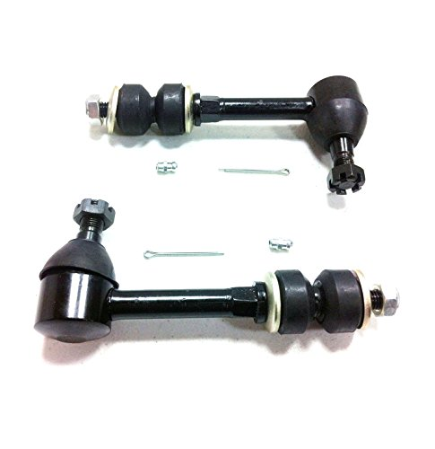 PartsW 2 Pc New Suspension Kit for Dodge Ram 1500 2500 3500 Front Sway Bar End Links ()