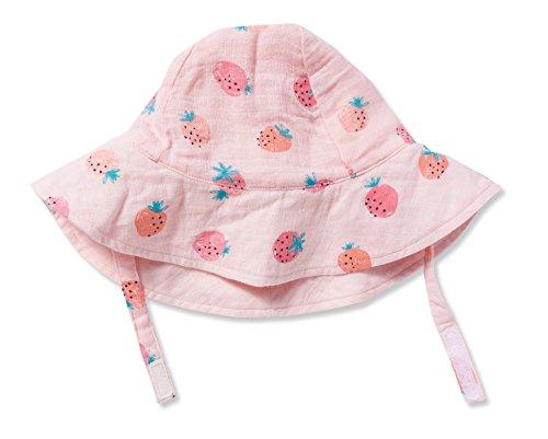 Angel Dear Strawberries Muslin Sunhat (0-12 Months) Pink Angel Hat