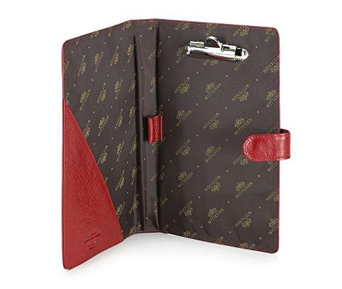 x 3 13 004 Cas Wittchen Collection Rouge Couleur cm Italy 2 22 Cuir 21 de Matériel Taille grain q4txwg