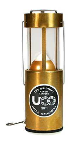 UCO Original Collapsible Candle Lantern, Brass (Candles For Brass Lanterns)