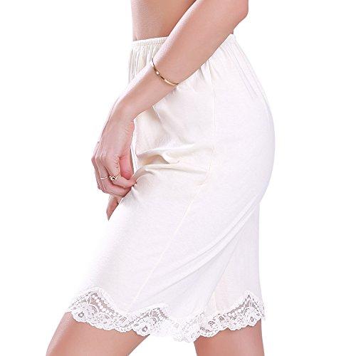 Ilusion Cotton/Polyester Lace Pettipant Slip