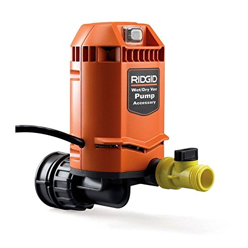 Ridgid VP2000 Genuine OEM 5/8 Inch Quick Connect Pump Accessory for Wet / Dry -