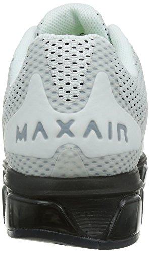 Nike Mens Air Max Medvind 7 Löparskor Vit / Svart 683.632-103