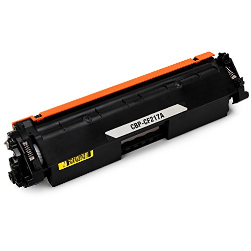 JARBO Compatible for HP 17A CF217A Toner Cartridges High Yield, 1 Black, Use with HP LaserJet Pro M130fw M102w M130nw M130fn M102a M130a - Resolution High Black Cartridge