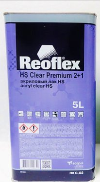 Reoflex Anti-Scratch Clear Coat 2K Urethane HS Premium