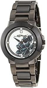 Ed Hardy Women's AT-BK Athens Black Watch
