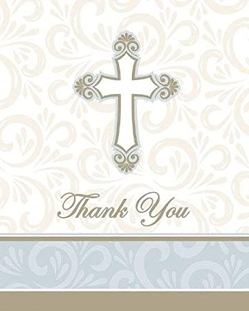 Amazon Com Divinity Religious Thank You Cards Church Gathering