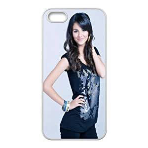 Celebrities Victoria Justice iPhone 5 5s Cell Phone Case White DIY GIFT pp001_8060452