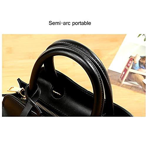 Sac Contrastante 25 De Pour Grande × Capacité Femmes Messenger Cabas 9 À Bandoulière Femme Bright Sacs Bag B 14 Couleur Main Cm zPqa0wX