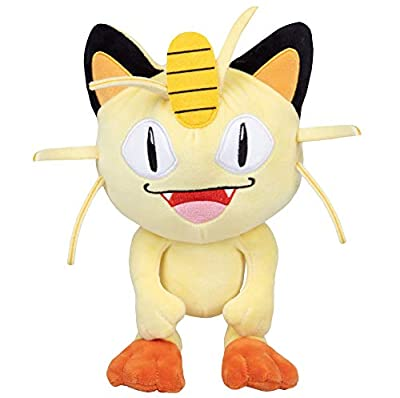 Pokémon Meowth Plush Stuffed Animal Toy - 8""
