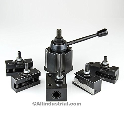 BXA Wedge Tool Post Set CNC High Precision Quick Change Lathe Holders 200 Series by All Industrial Tool Supply