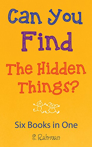 Can you Find the Hidden Things?: Six Books in One!