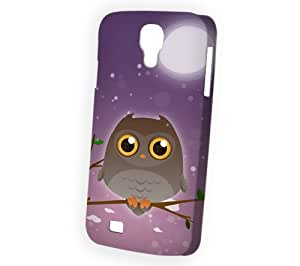 Case Fun Samsung Galaxy S4 (i9500) Case - Vogue Version - 3D Full Wrap - Brown Owl by DevilleART