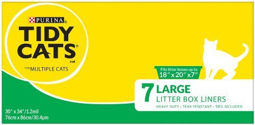 Tidy Cats Jumbo Liners 7Ct by Golden Cat