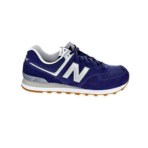 Nye Balance Ml574 Herre Sneakers Blau / Grå z076REk3R