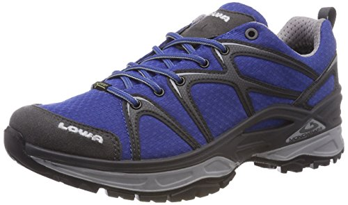 Lowa Men Innox GTX Lo High Rise Hiking Boots Blue (Blue/Grau 6030)