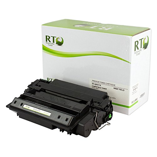 Renewable Toner Compatible Toner Cartridge High Yield Replacement for HP 11X Q6511X LaserJet 2420 2430