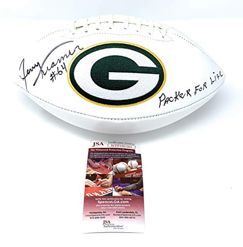 Jerry Kramer Green Bay Packers Signed Autograph Embroidered for sale  Delivered anywhere in USA
