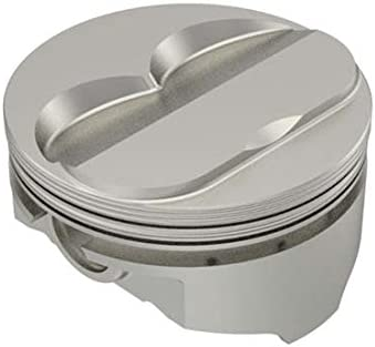""".030/"""" O//S Chevy 454 Flat Top 2 Valve Relief Pistons+Rings Combo Kit 1970-83"""