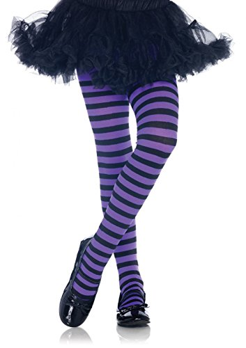 Leg Avenue Children's Striped Tights (Girls Halloween Tights)