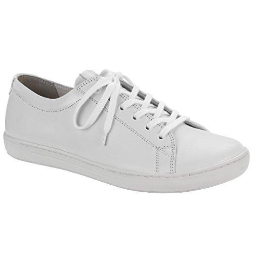 Birkenstock - Zapatos de cordones de Piel para mujer blanco blanco
