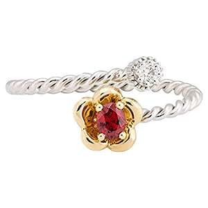 365Love Women's 18K Gold Diamond Ring - 16 US