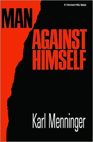 Image result for karl menninger man against himself