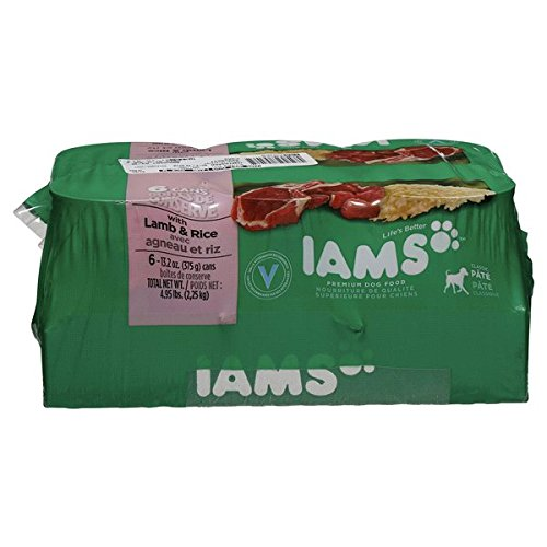 IAMS Proactive Health PATE` With Lamb & Rice 6-13 OZ CANS