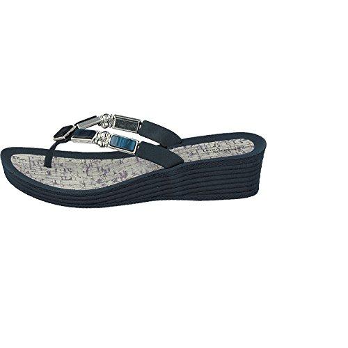 Linea Scarpa Lyon Tongs de piscine - Mesdames Tythes Renner à la mode et confortable Flip avec Talon Bleu dAnWZ