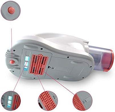 QWEAS Aspirateur Robot Laveur Anti Acariens UV, 10500 Pa 400W Aspirateur Antibactérien Filtre HEPA Poussières Aspirateur À Main UV Couvertures Tapis Sols Durs Poil Animaux