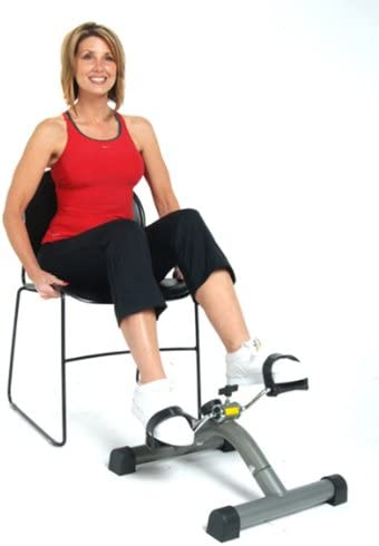 Stamina 15-0120 In Stride Cycle XL stamina exercise bike with girl