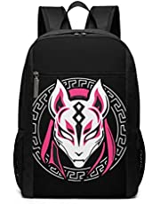 Babymetal Fox MASK Anti Theft Backpack College 17in Bag School Casual Daypack for Women&Men Casual Hiking Travel Daypack