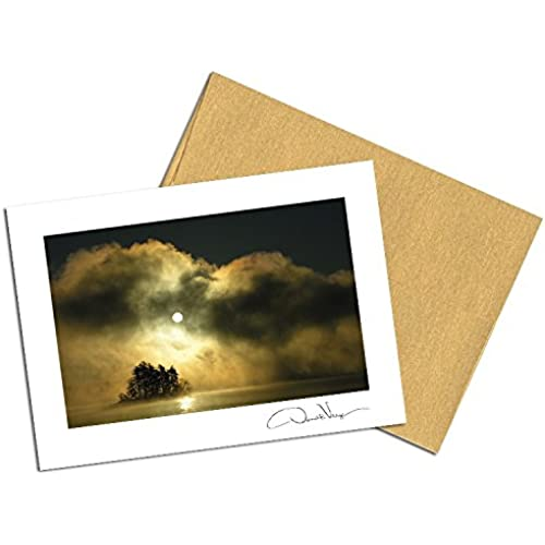 Dawn of Peace Note Cards. 3.5x5. Set of 8 Blank Folded Cards with Matching Envelopes. Great Birthday Cards, Thank Sales